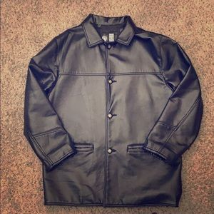 Used men's soft leather jacket